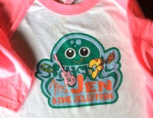 Ms. Jen and the Jellyfish Band Logo