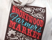 Shorewood Farmers Market Logo and Brand Identity
